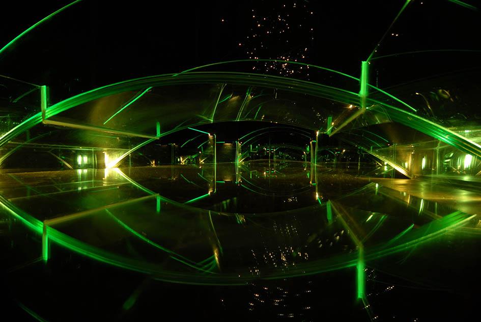 GLASSBROEN finnes i kunstprosjektet KUBEN